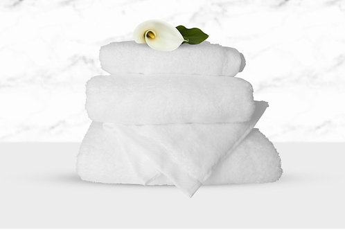 Bubble Hand Towel – White