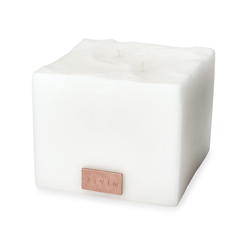 Porcelain White Scented Candle Medium