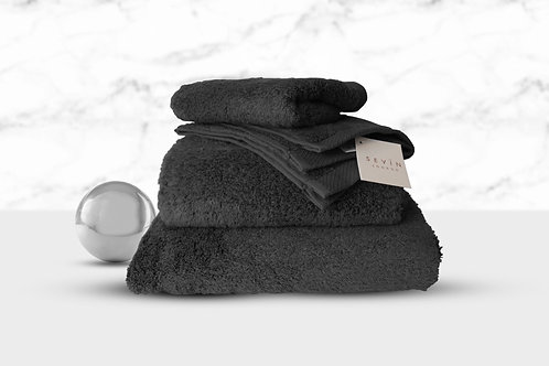 Bubble Hand Towel – Charcoal