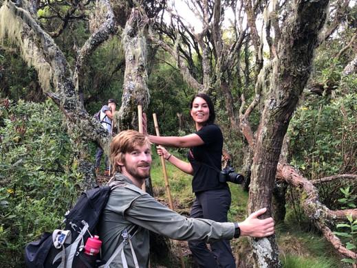 Hiking in Mgahinga