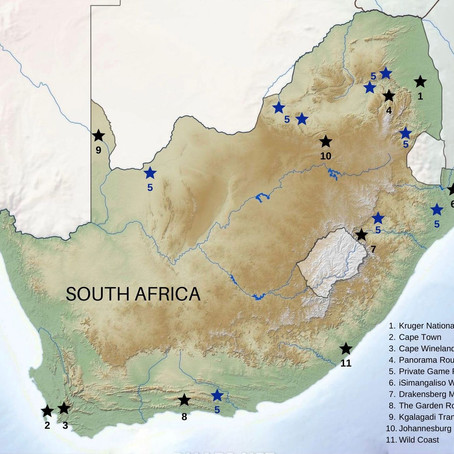 10 Best Places to Visit in South Africa