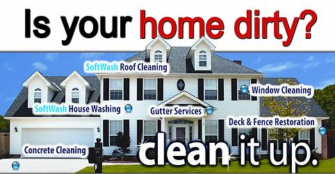 pressure Washing Driveway Cleaning House Washing