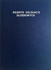 Rejestr  Delegacji A4