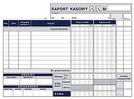 Raport kasowy A5 s-kopia