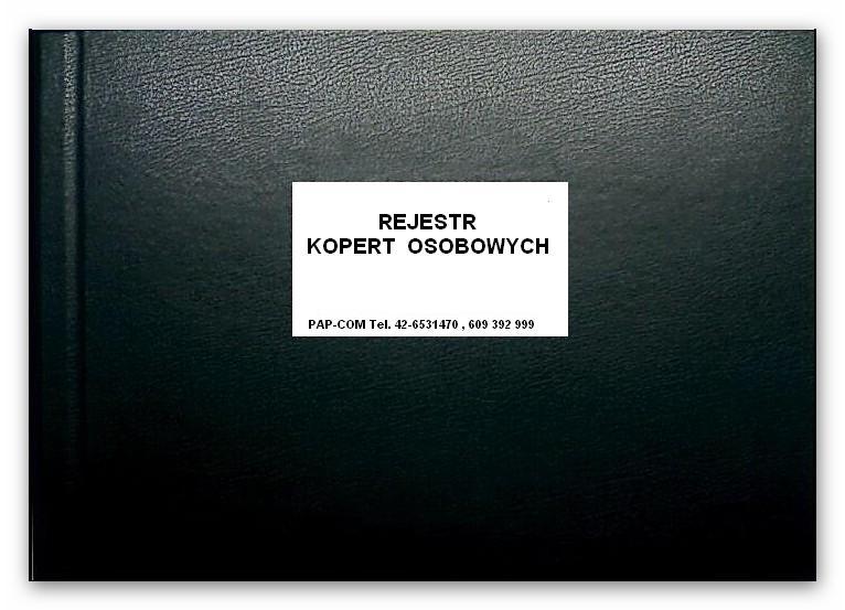 Rejestr kopert osobowych