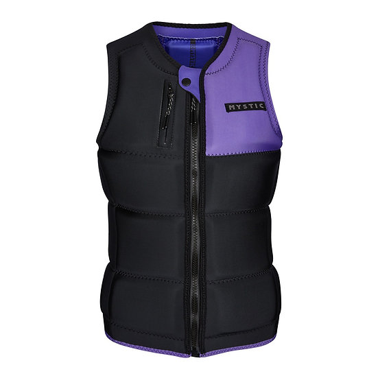 Mystic Dazzled Impact Vest Wake Women - Black/Purple