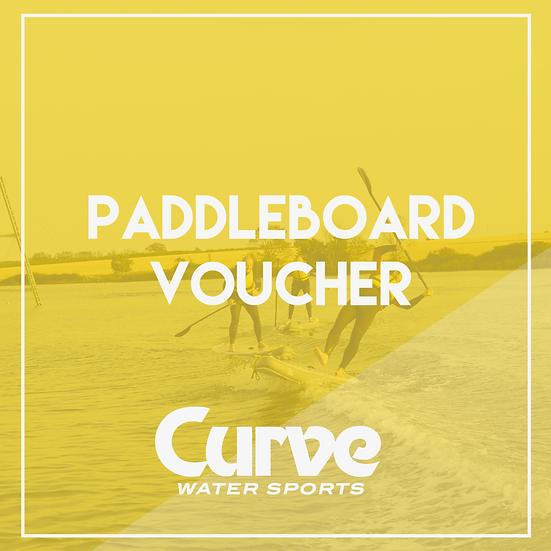 Paddleboarding Voucher