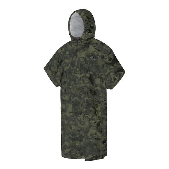Mystic Poncho Velour - Camouflage