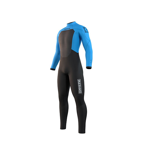 Mystic Star Fullsuit 5/3mm Back Zip - Global Blue