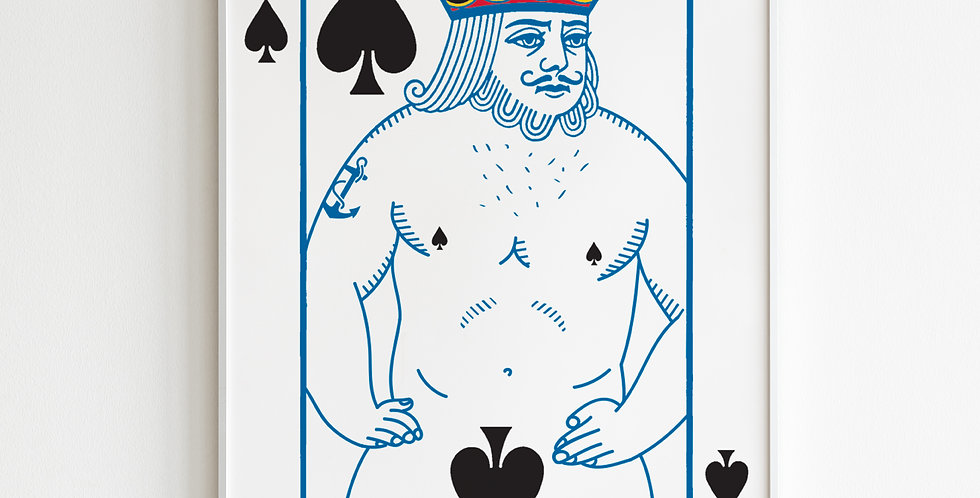 Poster - King of Spades