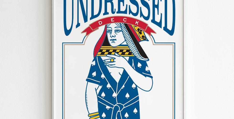 Poster Undressed Deck Back
