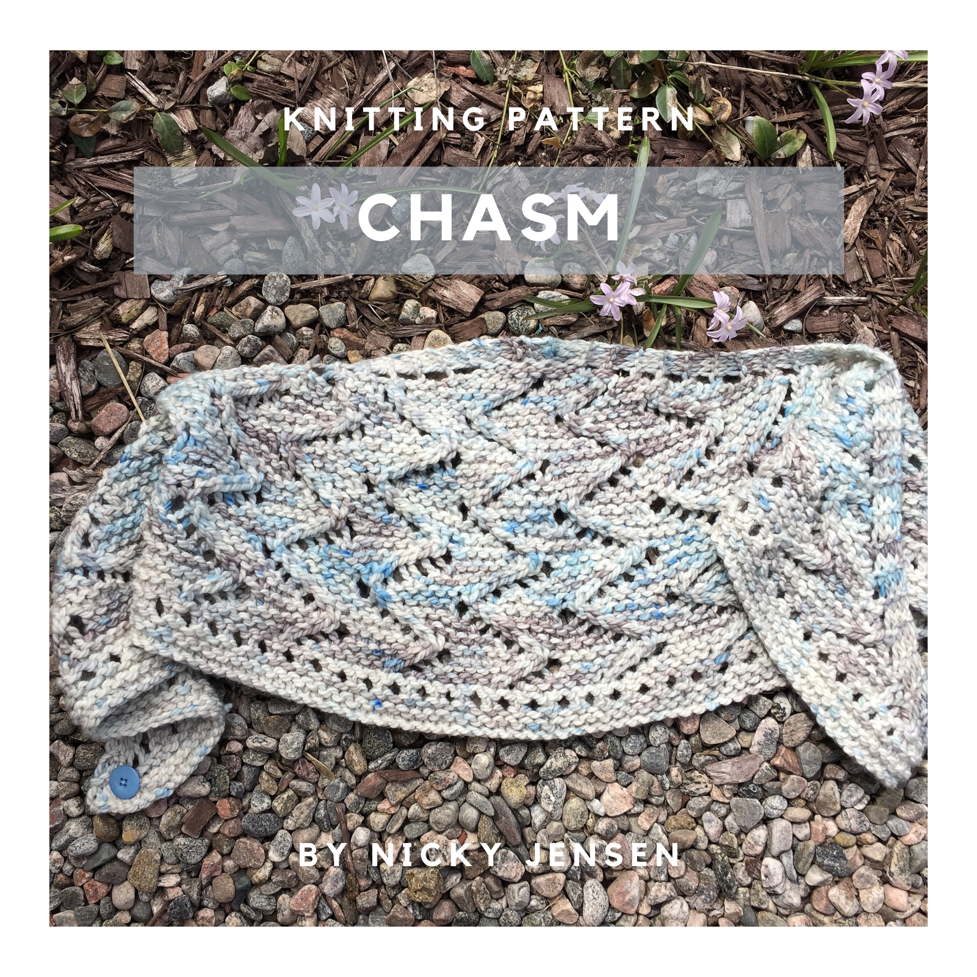 Chasm Shawlette Knitting Pattern