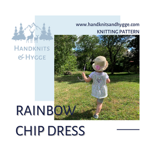 Rainbow Chip Birthday Dress