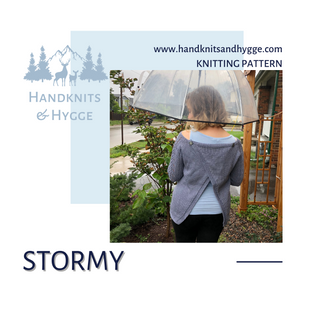 Stormy Open Back Sweater