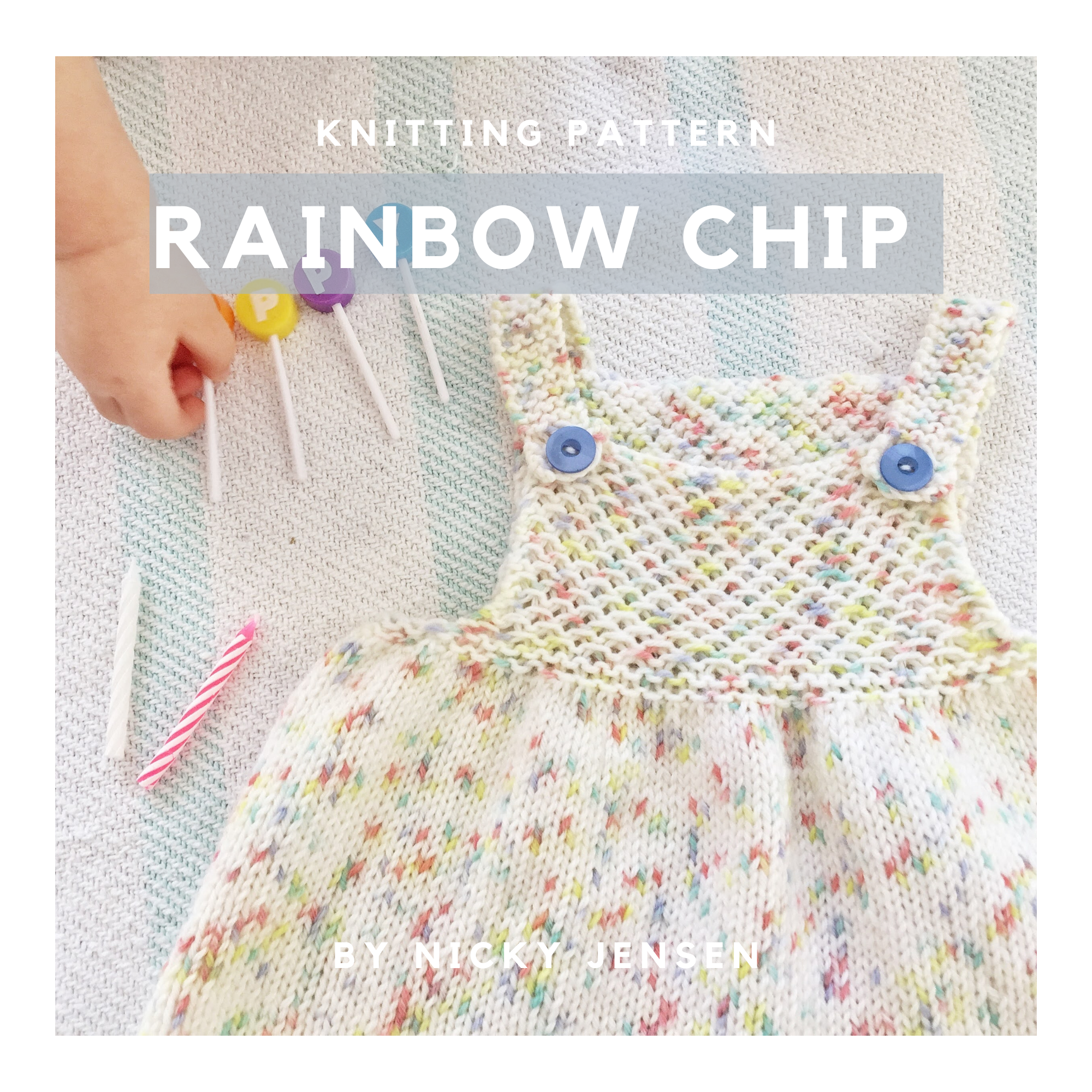 The Rainbow Chip Birthday Dress