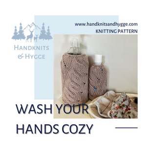 Wash Your Hands Sanitizer Cozy