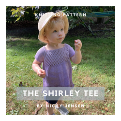 The Shirley Tee Knitting Pattern