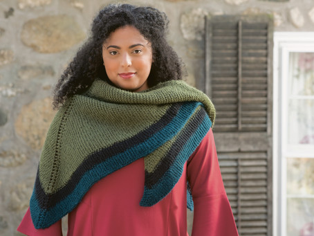 Pattern Release: Rent Shawl