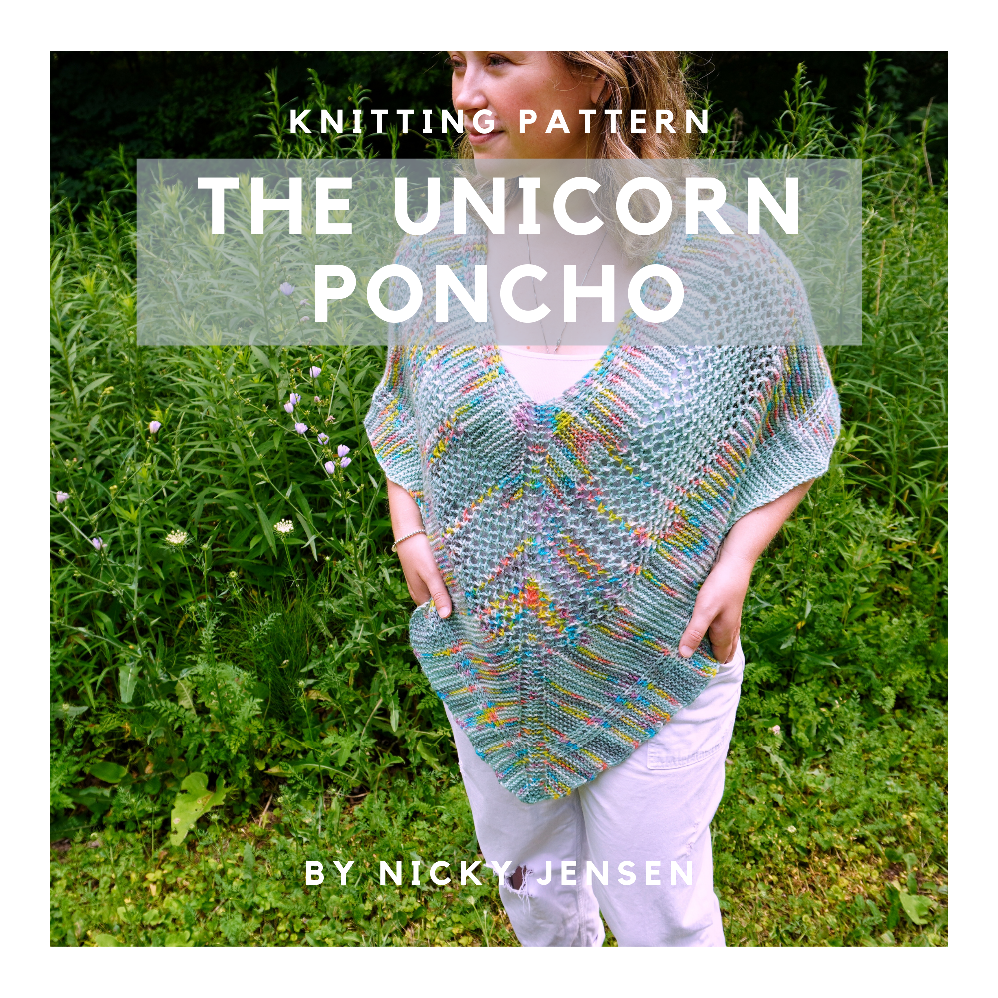 The Unicorn Poncho