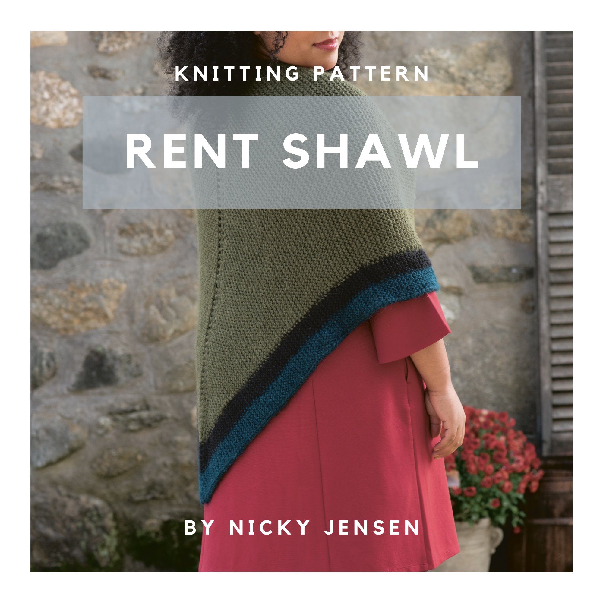 Rent Shawl Knitting Pattern