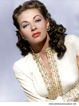 Yvonne De Carlo. A Canadian-American actress, dancer, and singer. She became an internationally famous Hollywood film star in the 1940s and 1950s, made several recordings, and later acted on television and stage