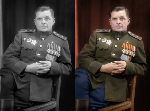 Sergey Vladimirovich Ilyushin. A Soviet aircraft designer who founded the Ilyushin aircraft design bureau