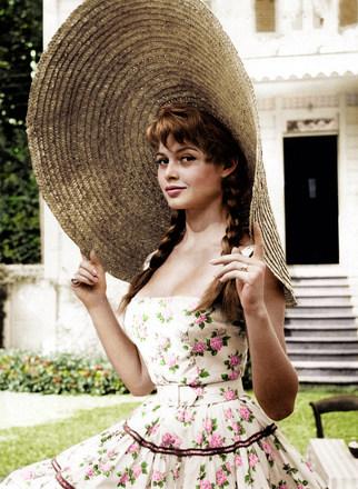 Brigitte Bardot in 1950