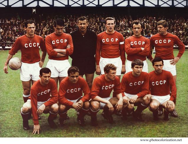 The USSR national football team. 1966.