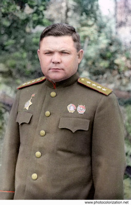 Nikolai Vatutin (1901-1944) - Soviet military leader, Army General, Hero of the Soviet Union.