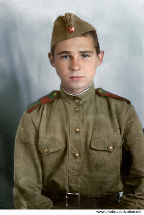 Golubkov Victor. Died defending the Motherland in 1944 at the age of 19 years