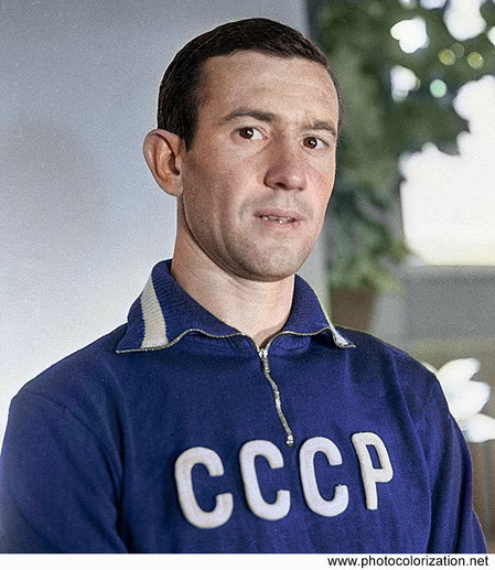 Master of sports of the USSR, Soviet football player, striker Igor Chislenko