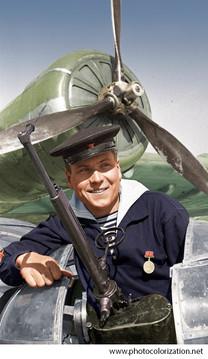 Sergeant Soldatenko Vasily Gerasimovich, the participant of defense of Sevastopol 1941-1942 21.03.42