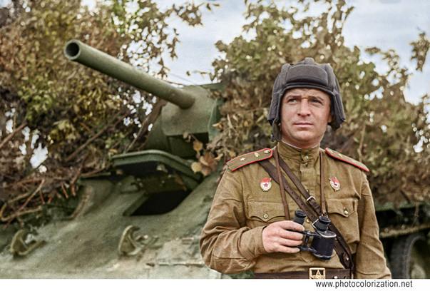 """""""Гвардии майор бронетанковых войск"""""""