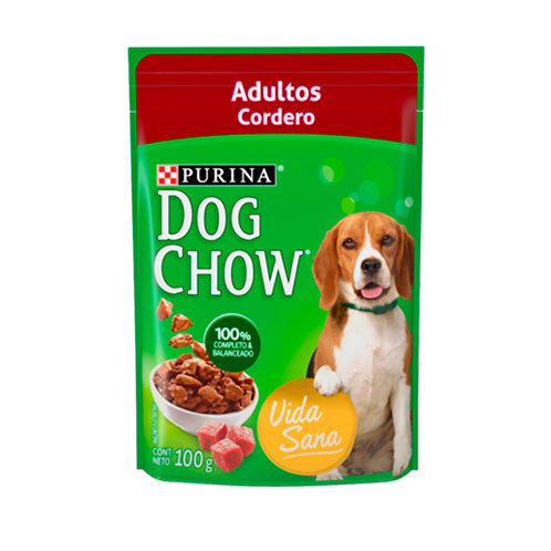 Pouch Dog Chow Cordero
