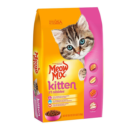 Meow Mix Gatitos (3.15lbs)