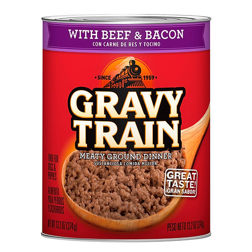 Lata de Alimento Húmedo Gravy Train (Carne)