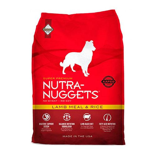 Nutra Nuggets Cordero y Arroz (33lbs)