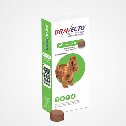 Bravecto 10 a 20kg (Pastilla anti-pulgas)