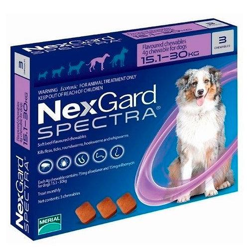 Nexgard Spectra 15.1-30kg