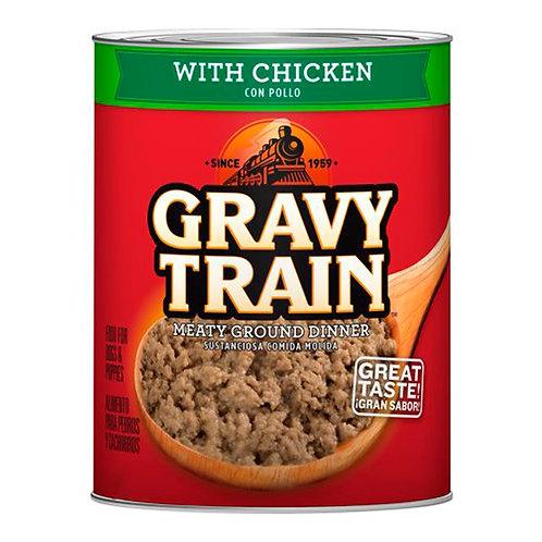 Lata de Alimento Húmedo Gravy Train (Pollo)