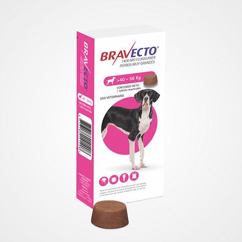 Bravecto 40 a 56kg (Pastilla anti-pulgas)