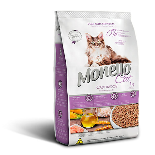 Monello Gatos Castrados (10.1kg)