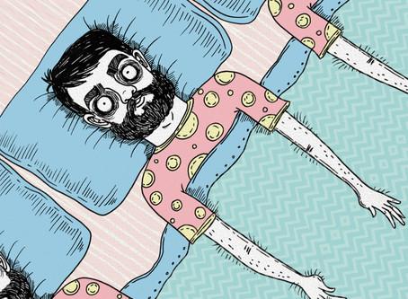 A dificuldade em dormir e o medo da morte