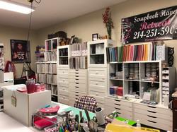 Carla's Scraproom Area