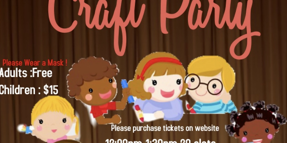 Kidsgiving Craft Party