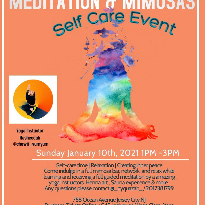 MEDITATION & MIMOSAS SELF CARE EVENT