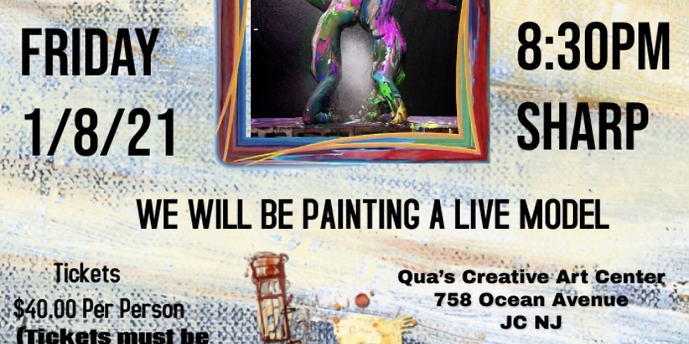 ADULT LIFE ART SIP AND PAINT