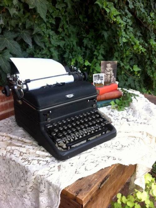 Vintage typewriter, prop