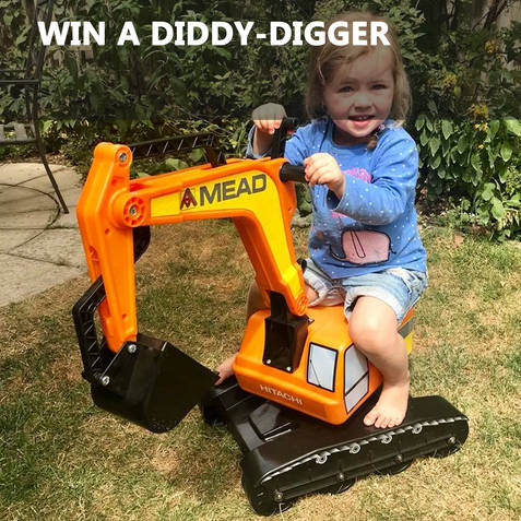 Win one of our custom Mead Diddy-diggers!