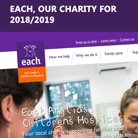 Charity of the year for 2018/19